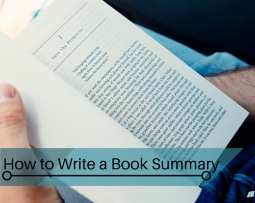 A Book Summary writing tips