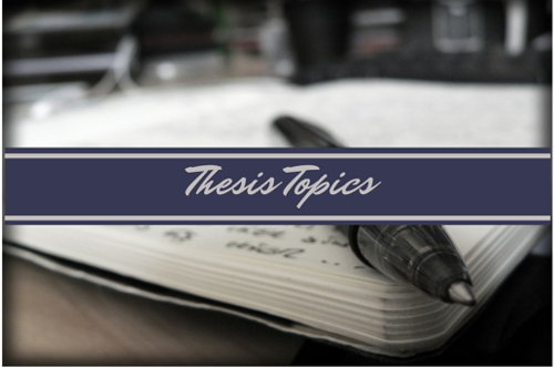 Thesis subjects